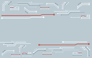 fondo astratto della linea tecnologia del circuito
