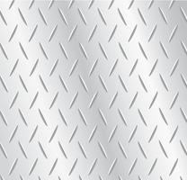 illustrazione di vettore del fondo del metallo della piastra