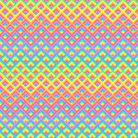 Priorità bassa di arte del pixel di quadrati 3D arcobaleno