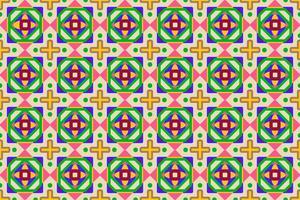 Vector l'illustrazione della priorità bassa senza giunte geometrica variopinta astratta del reticolo