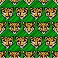 Illustrazione di vettore del grande gatto del ghepardo
