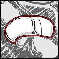 vettore del disegno della mano del cappello delle donne