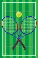 vettore di tennis