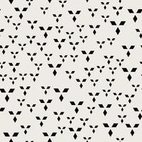 Sfondo modello senza soluzione di continuità. Concetto astratto moderno e classico antico. Tema elegante design geometrico creativo. Illustrazione vettoriale. Colore bianco e nero Rettangolo Forma quadrata diamantata