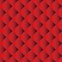 Modello senza cuciture divano rosso