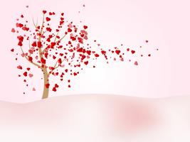 felice giorno di San Valentino sfondo vettoriale
