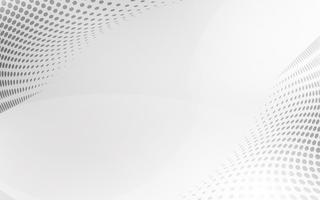 Vettore astratto bianco della priorità bassa. Astratto grigio Sfondo di design moderno per report e modello di presentazione del progetto. Illustrazione vettoriale. Forma curva futuristica e circolare