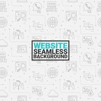 Sfondo grigio senza soluzione di continuità del sito Web vettore
