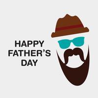 felice giorno del padre illustrazione
