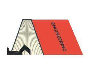 Illustrazione del libro STEM vettore