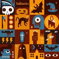 Concetto di Halloween vettore