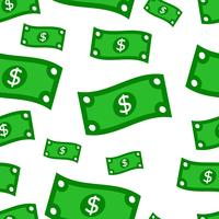 Illustrazione vettoriale di banconota da un dollaro