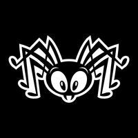 Bug insetto ragno vettore
