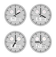 Movimenti e orologi vettore