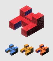 Il logo dell'azienda vettore