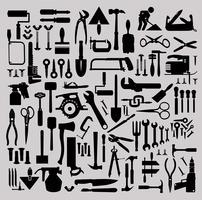 strumenti di costruzione vettore