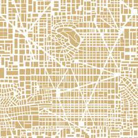 Pianta della città mappa senza soluzione di continuità