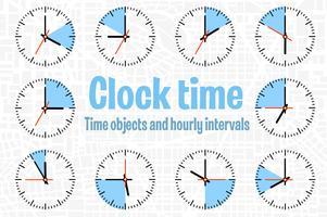 Imposta l'orologio con il timer vettore