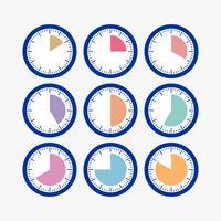 Imposta l'orologio con il timer