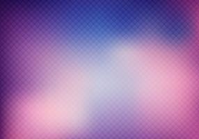 Astratta griglia di colore viola 3D su sfondo sfocato e texture.