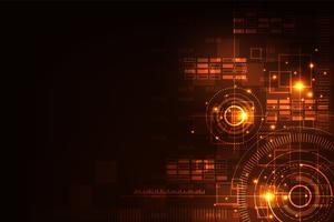 Calcolo di varie informazioni digitali. vettore