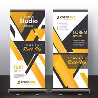 banner astratto mock up vettore