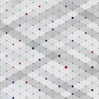 Struttura isometrica alla moda moderna astratta del modello, rettangolo tridimensionale vettore