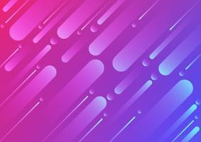 Colore geometrico colorato e disegno astratto di linea. illustrazione vettoriale