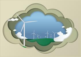 Salva il concetto di mondo pianeta terra. Concetto di giornata mondiale dell'ambiente. sicuro il mondo, concetto di ecologia vettore