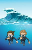 Due sub sotto l'oceano