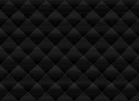 Fondo sottile nero e grigio di vettore astratto del modello della grata. Stile moderno con traliccio monocromatico. Ripeti la griglia geometrica