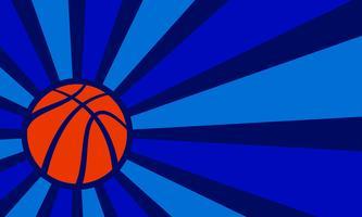 Vettore di pallacanestro