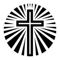 Croce cristiana vettore