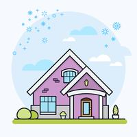 Illustrazione vettoriale di casa