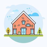 Illustrazione di casa