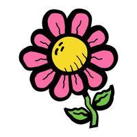 Fiore dei cartoni animati
