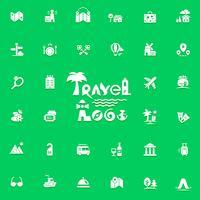 Logo e icone di viaggio