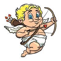 Illustrazione vettoriale Cupido