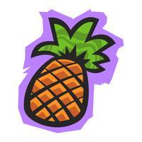 Frutto di ananas vettore