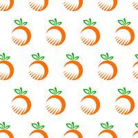 Illustrazione di frutta arancione