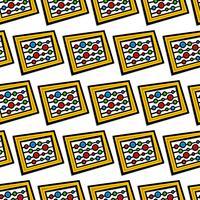 Strumento di conteggio Abacus vettore