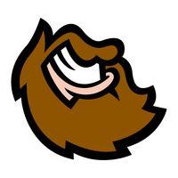 Barba vettore