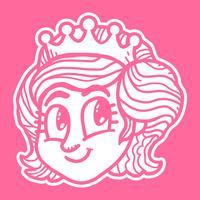Principessa dei cartoni animati