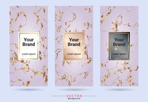 Modelli di etichette e adesivi per la progettazione di prodotti di imballaggio.