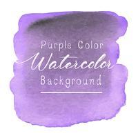 Viola acquerello astratto. Illustrazione vettoriale