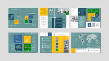 Brochure design creativo