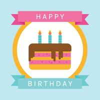 Piatto Happy Birthday Card