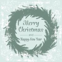 Vettore di cartolina di Natale