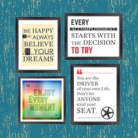 Cita la cornice della motivazione vettore