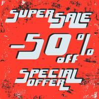 Poster Super vendita